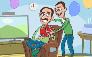 50 интересных идей для подарка папе на день рождения от сына