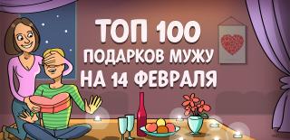 ТОП-100 лучших подарков мужу на 14 февраля в 2021 году 💕