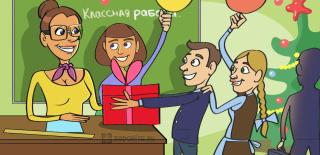 ТОП-70 оригинальных подарков учителю на Новый год