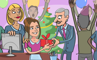 ТОП-60 лучших подарков коллегам на Новый год