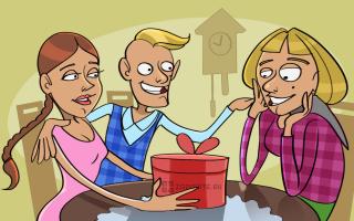 50 идей подарков маме парня на день рождения