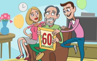 60 идей стоящих подарков отцу на 60 лет