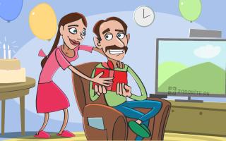 50 идей интересных подарков папе на день рождения от дочки