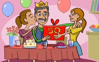 60 идей достойных подарков папе на 50 лет