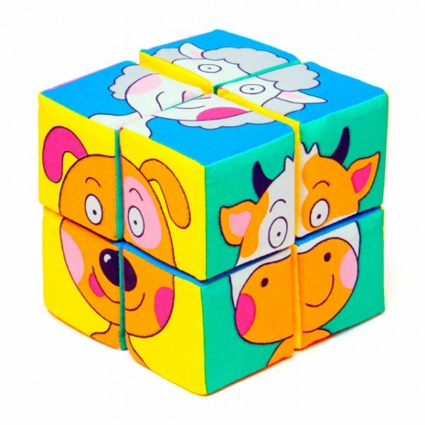 Кубики мякиши