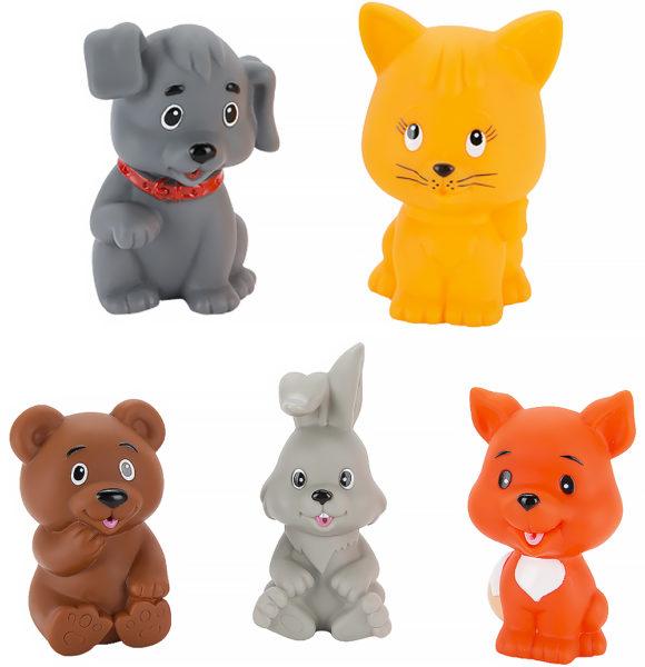 Набор резиновых игрушек