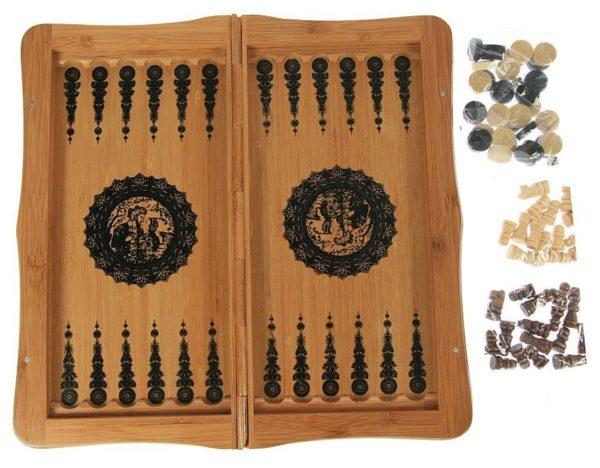 Настольная игра «Нарды и шахматы»
