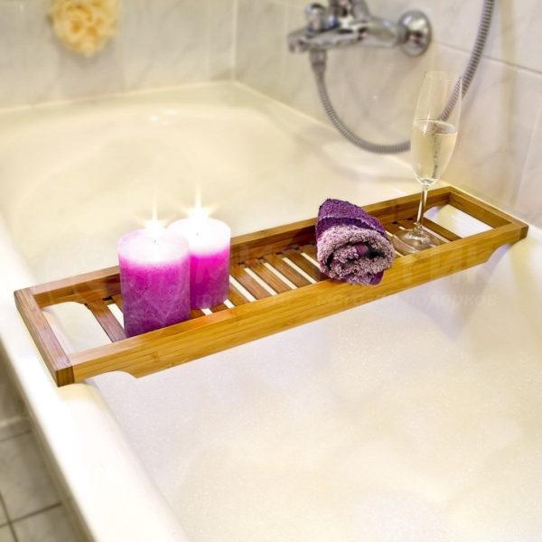 Подставка для ванны для принятия расслабляющих спа-процедур