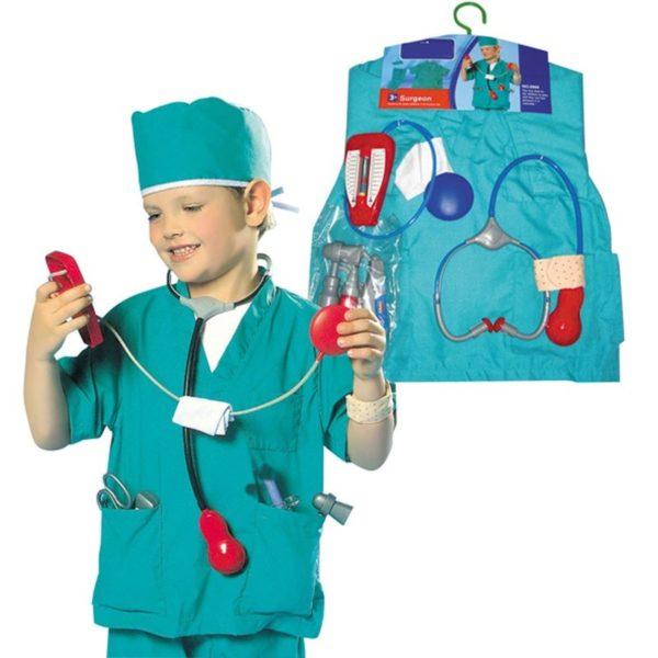 Набор доктора с медицинским костюмом
