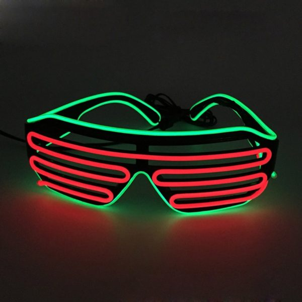 Светящиеся LED очки