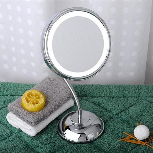 Зеркало с подсветкой и увеличением
