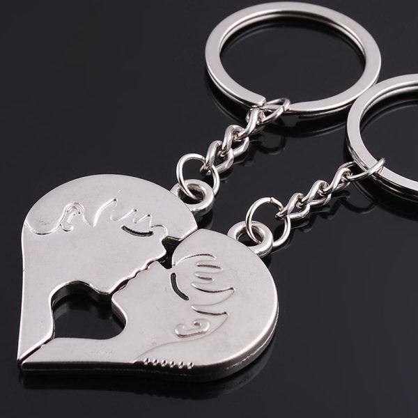 Брелок для ключей в виде сердца