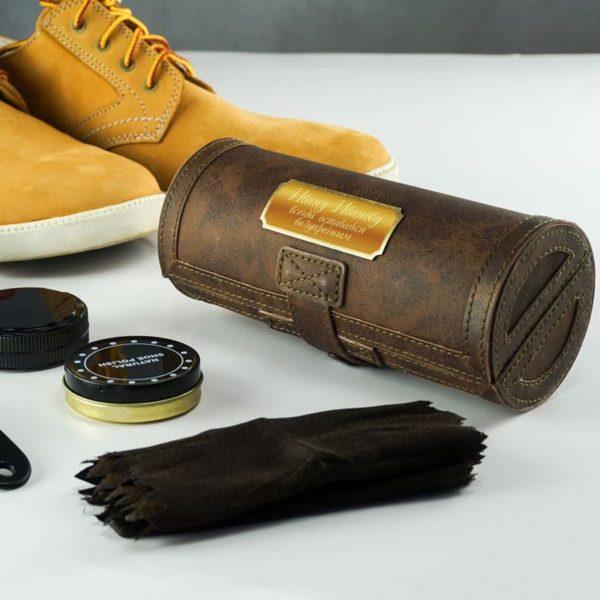 Именной набор для ухода за обувью