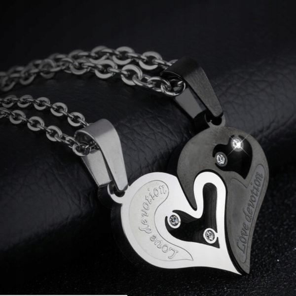 Кулон «Сердце» для двоих