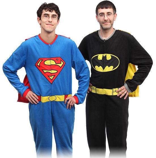 Пижама с изображением супер-героев