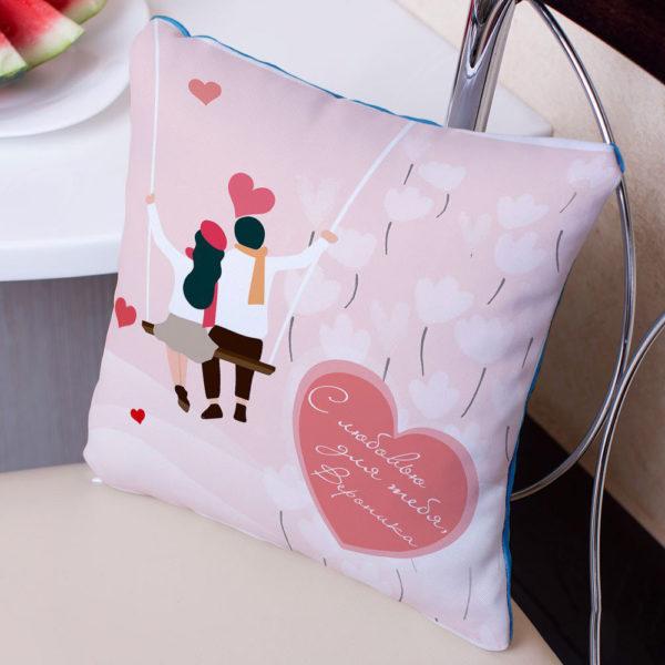 Подушка с фото или именем