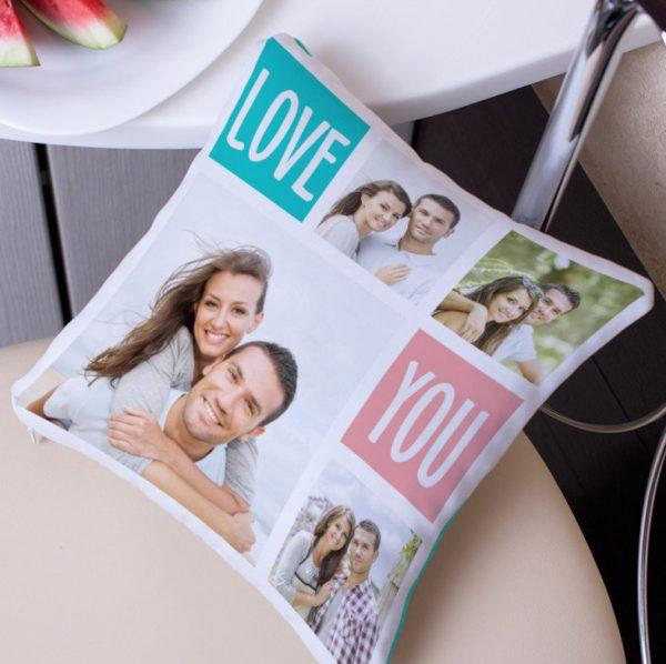 Подушка с фото или надписью