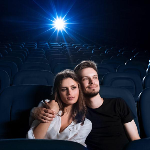 Просмотр записи свадьбы в кинотеатре