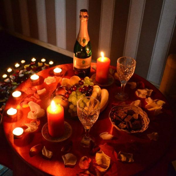 Романтический ужин или завтрак