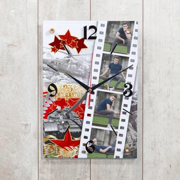 Часы-рамка для фото