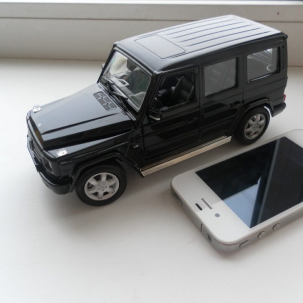 Моделька машины мечты