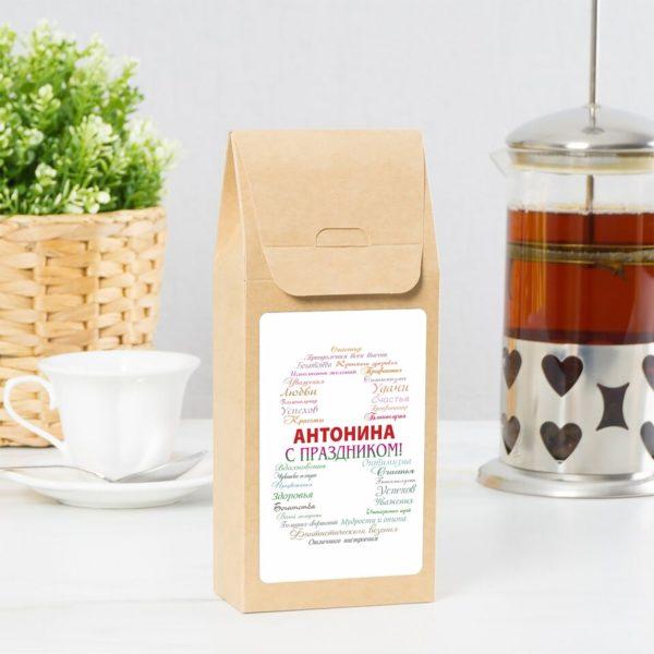 Именные наборы чая или кофе
