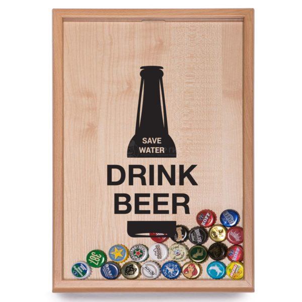 Копилка для пробок от пива