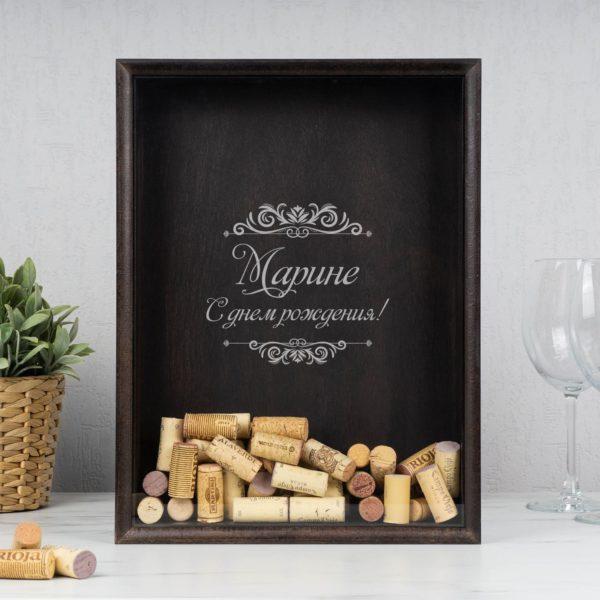 Копилка для пробок от вина