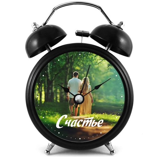 Настенные часы с фото