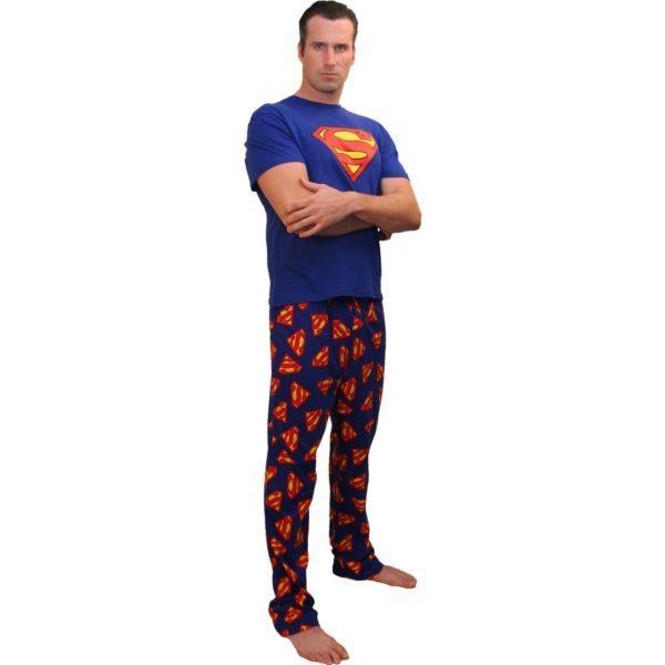 Пижама с необычным рисунком (супергерои, комиксы, мультики)