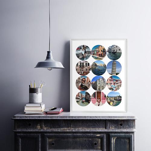 Постер на стену из фото