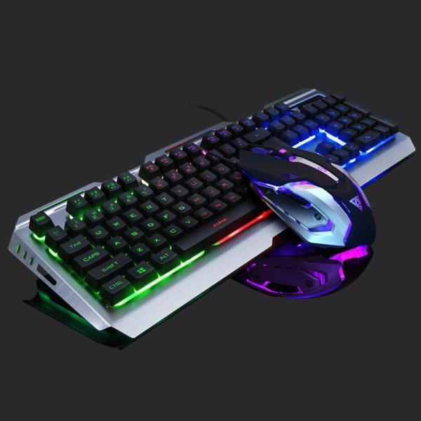 Игровые мышь и клавиатура