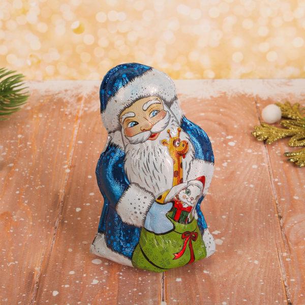Шоколадные фигурки Деда Мороза и Снегурочки