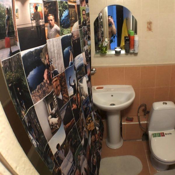 Фотоштора для ванной