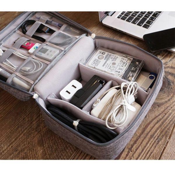 Органайзер для проводов и зарядных устройств