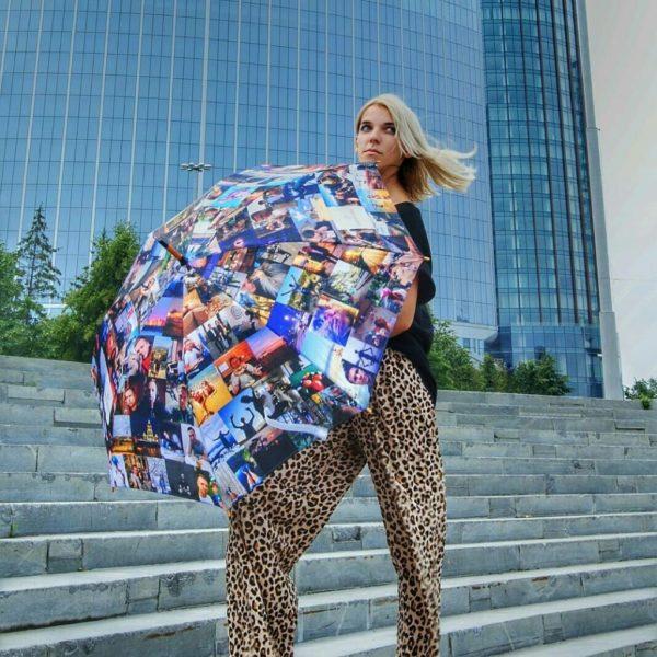 Зонт с фотографиями